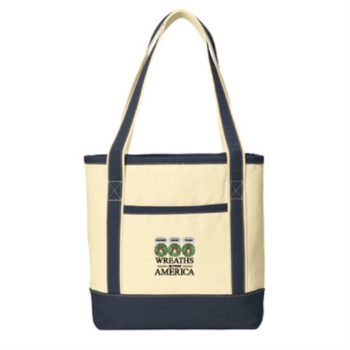 New! Large Canvas Tote Bag