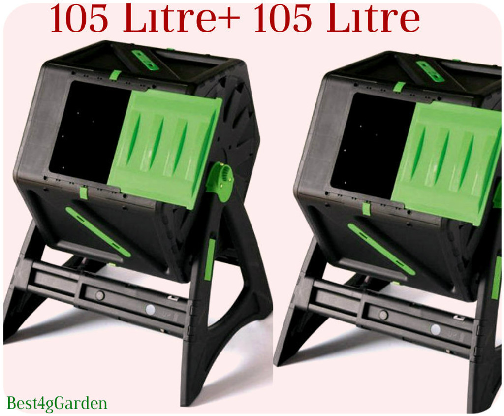 105L outdoor composter