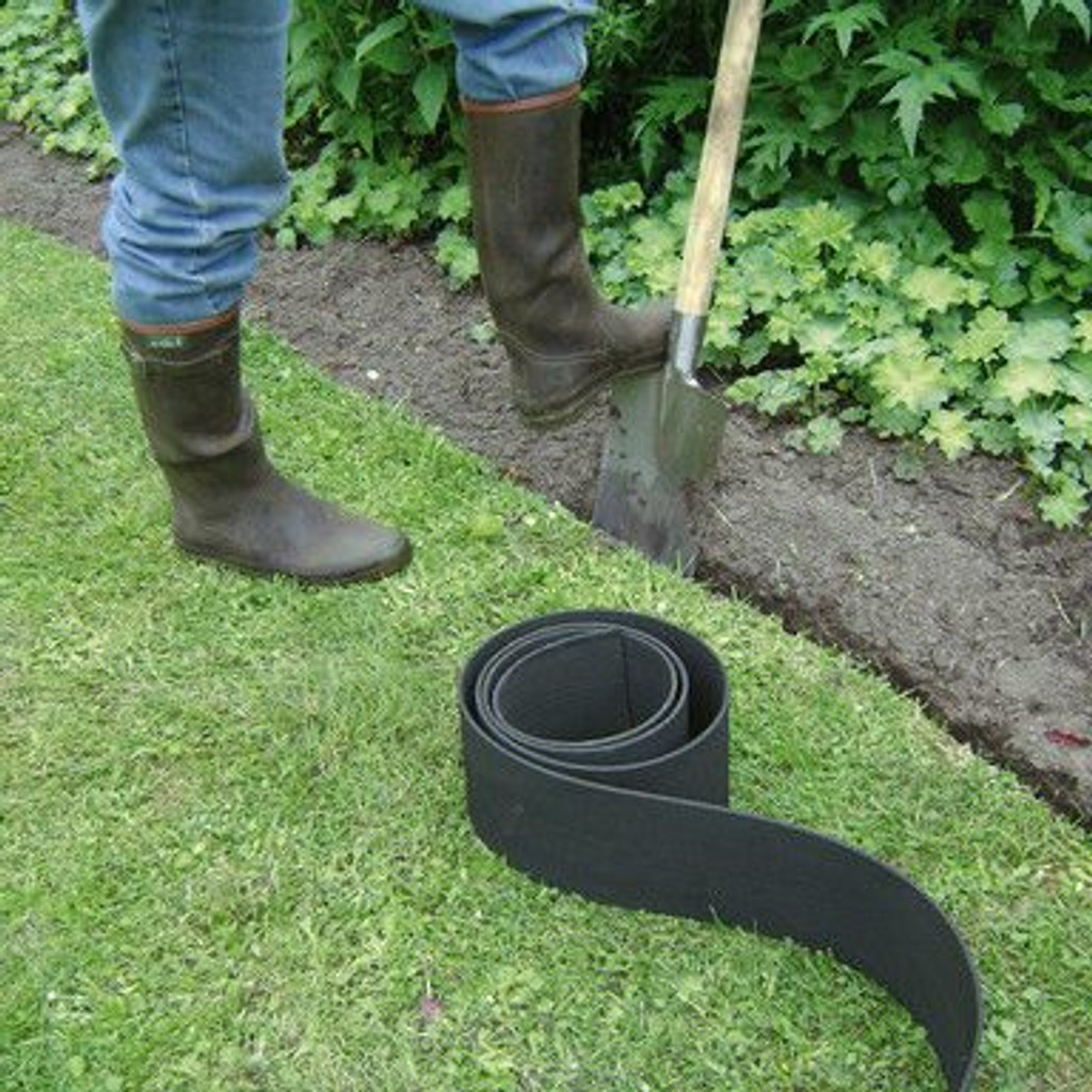 plastic garden edging