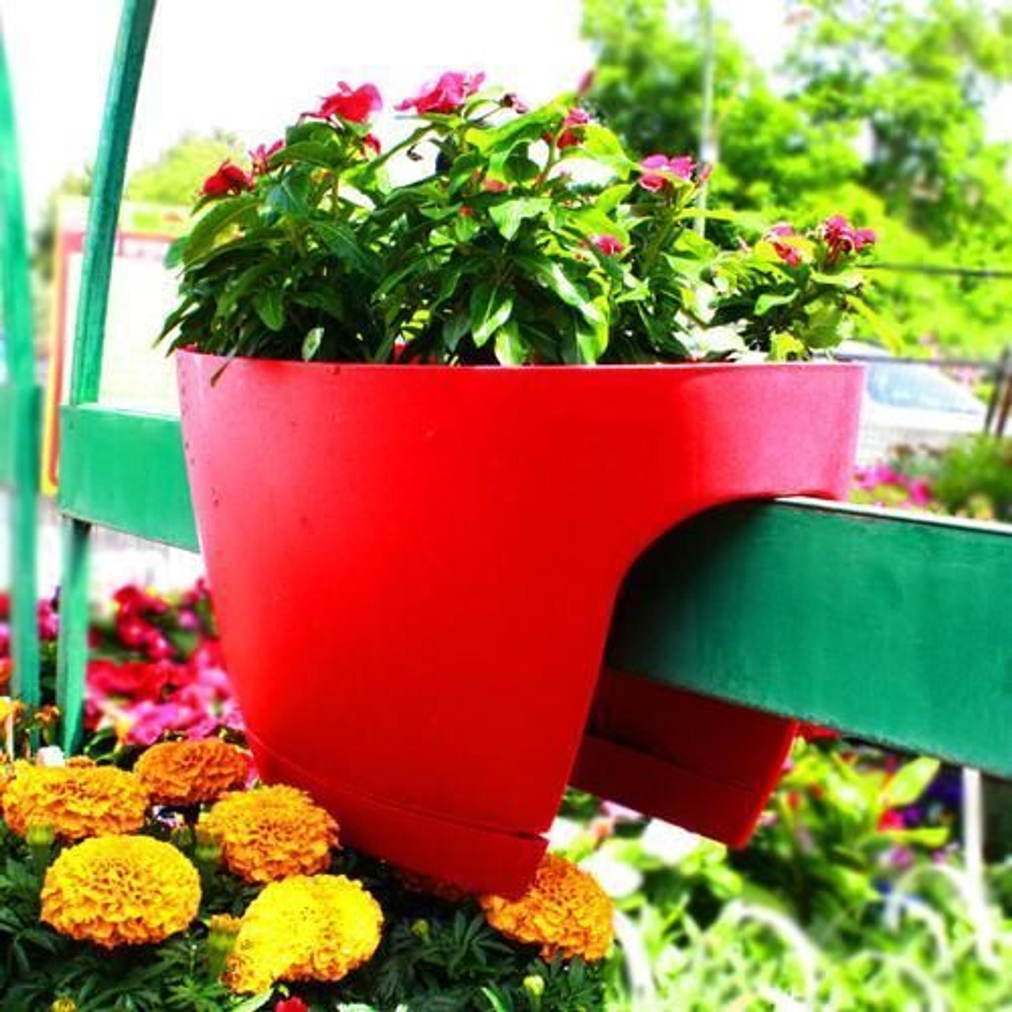 XL Greenbo Railing Planter Best4Garden Online Garden Products on