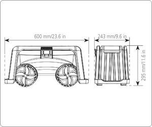 Fishing stool dimensions