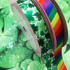 Combine our Shamrock ribbon with Rainbow ribbon for your St. Patricks celebration.