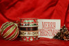Our Holiday train ribbon is designed to mix and match with our entire Holiday collection!