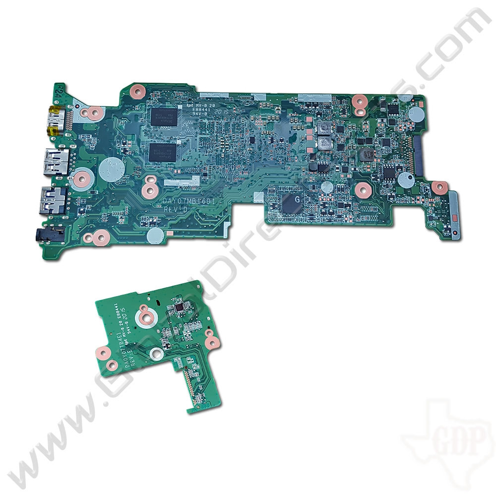 Oem Hp Chromebook 11 G3  G4 Motherboard  U0026 Daughterboard Set  2gb