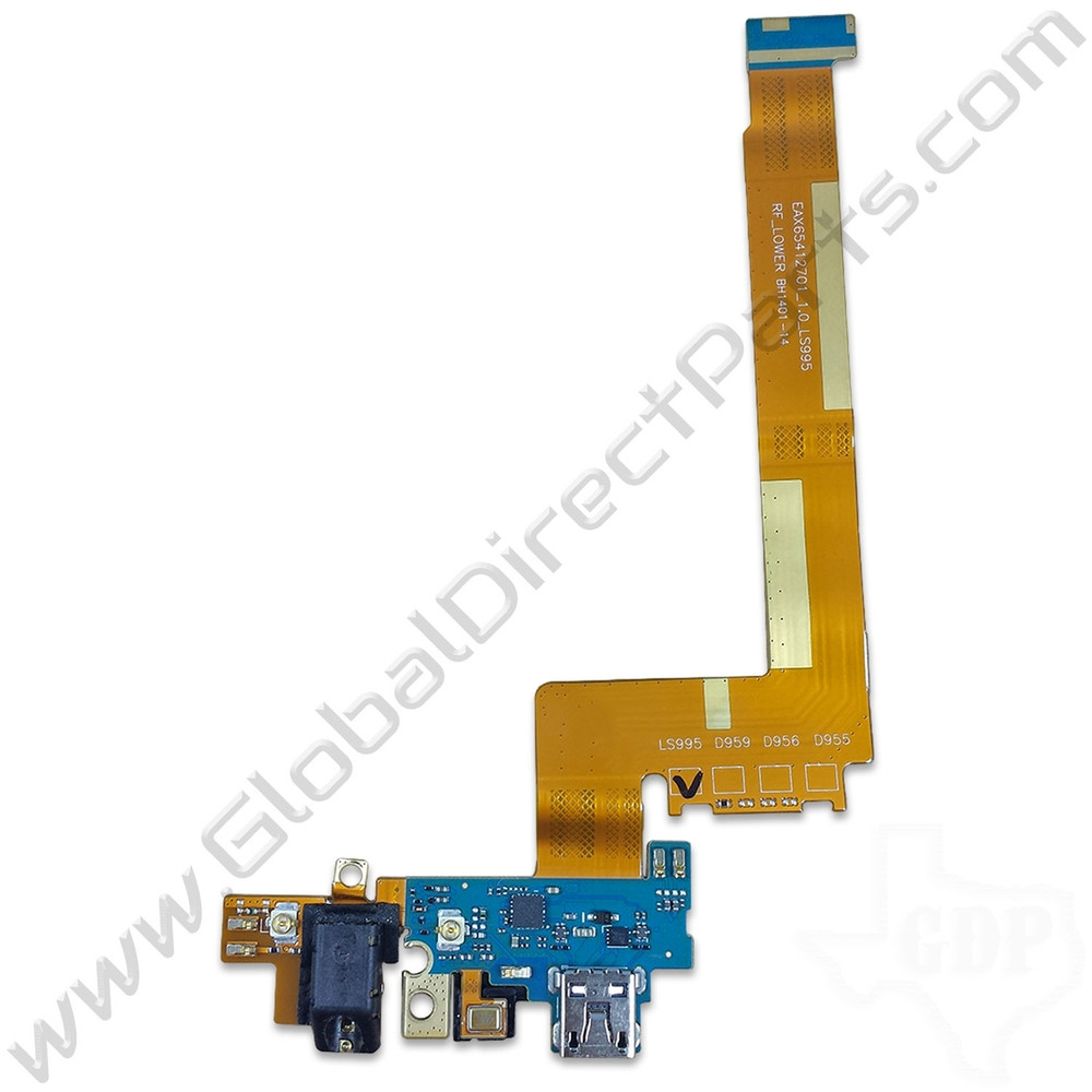 OEM LG G Flex Charge Port PCB with Audio Jack and Microphone