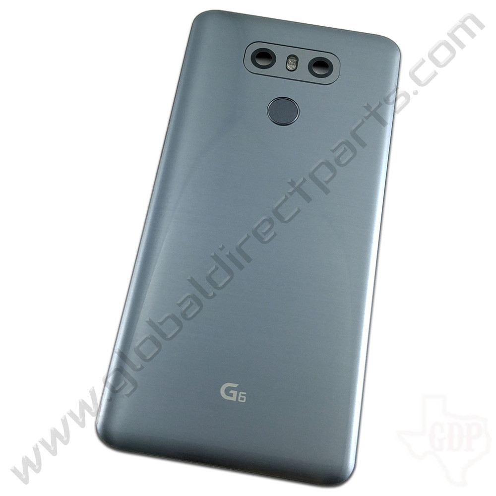 OEM LG G6 H872, LS993, US997 Battery Cover Assembly - Silver