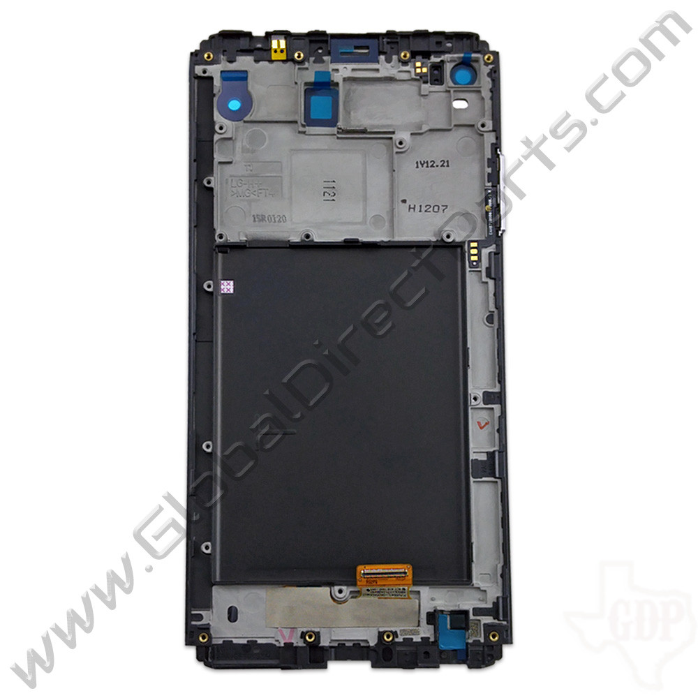 OEM LG V20 LCD & Digitizer Assembly with Front Housing - Silver