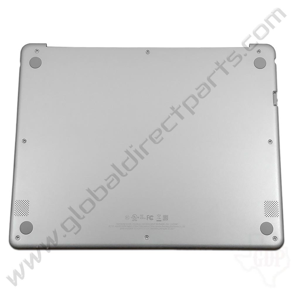 OEM Reclaimed Samsung Chromebook Plus XE513C24 Bottom Housing [D-Side] - Silver