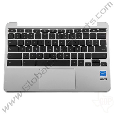OEM Asus Chromebook C201P Keyboard with Touchpad [C-Side] - Black