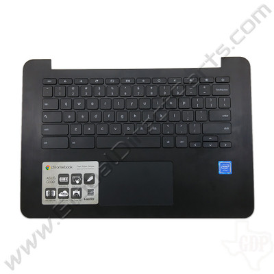 OEM Reclaimed Asus Chromebook C300M Keyboard with Touchpad [C-Side] - Black