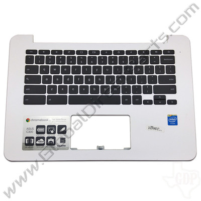 OEM Reclaimed Asus Chromebook C300M Keyboard [C-Side] - White