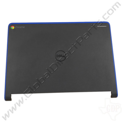 OEM Reclaimed Dell Chromebook 11 CRM3120 LCD Cover [A-Side] - Blue