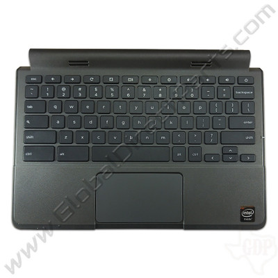 OEM Reclaimed Dell Chromebook 11 CRM3120 Keyboard with Touchpad [C-Side] - Black