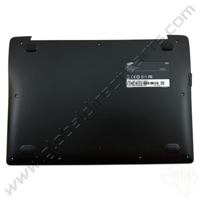 OEM Reclaimed Samsung Chromebook 2 XE503C12 Bottom Housing [D-Side] - Black [BA98-00268A]