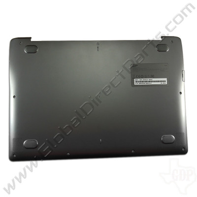 OEM Reclaimed Samsung Chromebook 2 XE503C32 Bottom Housing [D-Side] - Black [BA98-00280A]