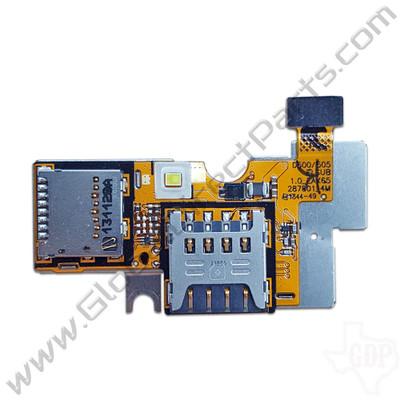 OEM LG Optimus F6 D500 SIM & SD Card PCB