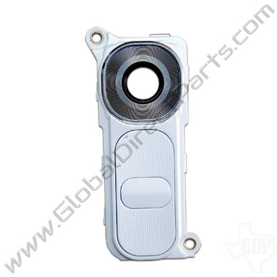 OEM LG G4 Camera Lens with Bracket - White