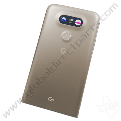 OEM LG G5 H820 Rear Housing - Gold
