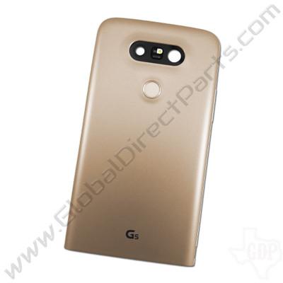 OEM LG G5 H830, LS992 Rear Housing - Gold