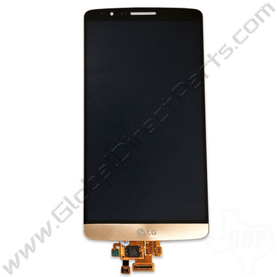 OEM LG G3 LS990 LCD & Digitizer Assembly - Gold