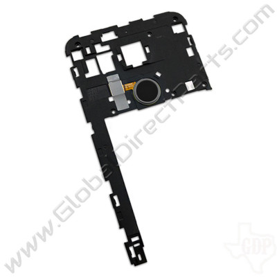 OEM LG Google Nexus 5X Rear Housing [Including Fingerprint Scanner] - Black