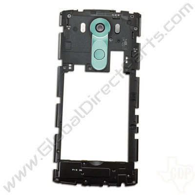 OEM LG V10 H900 Rear Housing with Loud Speaker Module - Blue
