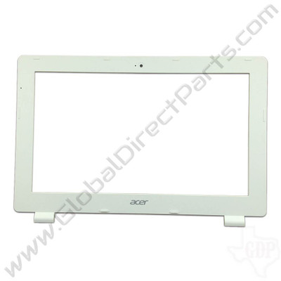OEM Reclaimed Acer Chromebook 11 CB3-111 LCD Frame [B-Side] - White
