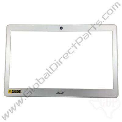 OEM Reclaimed Acer Chromebook 14 CB3-431 LCD Frame [B-Side] - Silver