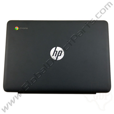 OEM Reclaimed HP Chromebook 11-V011DX LCD Cover [A-Side] - Black