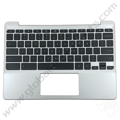 OEM Reclaimed HP Chromebook 11 G5, G5 Touch, 11-V011DX Keyboard [C-Side] - Black
