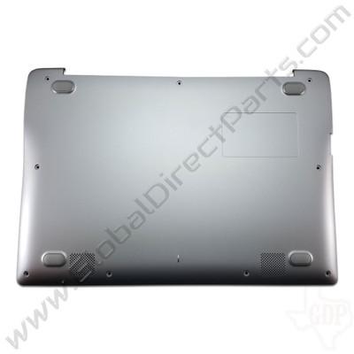 OEM Reclaimed Samsung Chromebook 2 XE500C12 Bottom Housing [D-Side] - Gray [BA97-07248A]