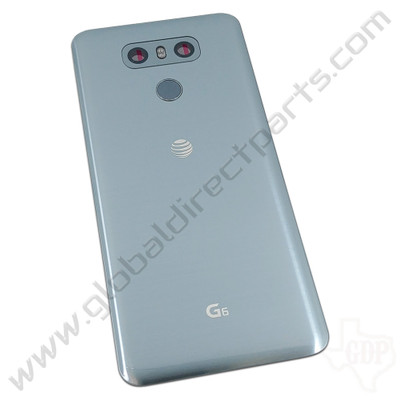 OEM LG G6 H871 Battery Cover Assembly - Silver