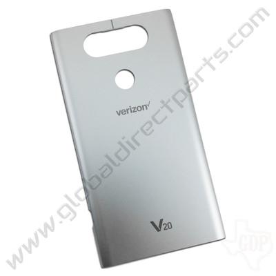 OEM LG V20 VS995 Battery Cover - Silver