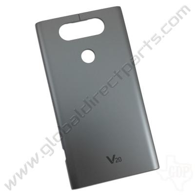 OEM LG V20 H918, LS997, US996 Battery Cover - Gray
