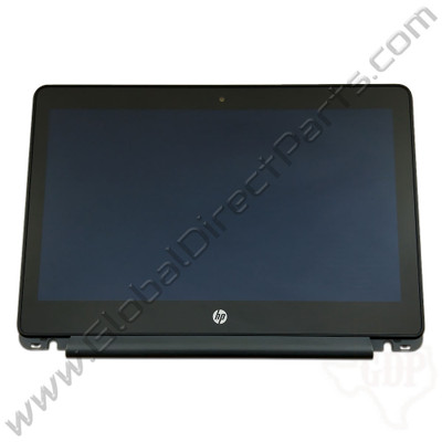 OEM Reclaimed HP Chromebook 11-V011DX LCD & Digitizer Assembly - Black