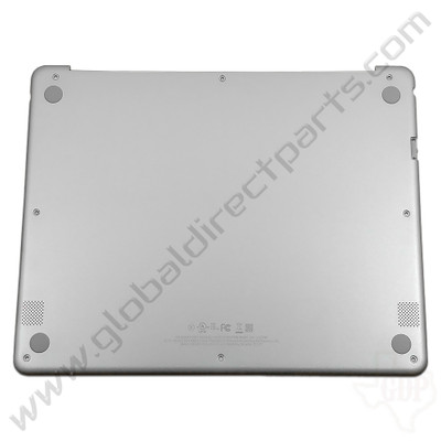 OEM Reclaimed Samsung Chromebook Plus XE513C24 Bottom Housing [D-Side] - Silver