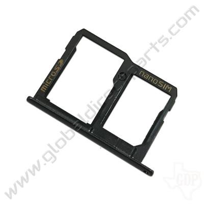 OEM LG X Charge SIM & SD Card Tray - Black