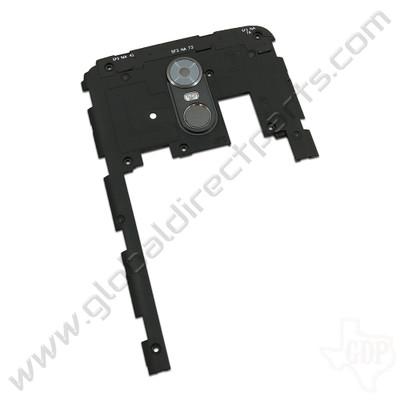 OEM LG Stylo 3 LS777 Upper Rear Housing - Gray