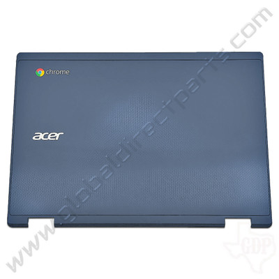 OEM Reclaimed Acer Chromebook C738T, CB5-132T LCD Cover [A-Side] - Blue