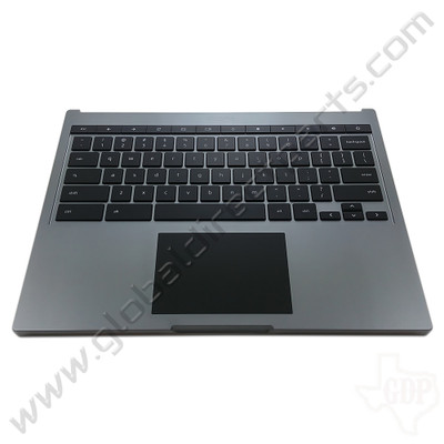 OEM Reclaimed Google Chromebook Pixel [2013] Keyboard with Touchpad [C-Side] - Gray