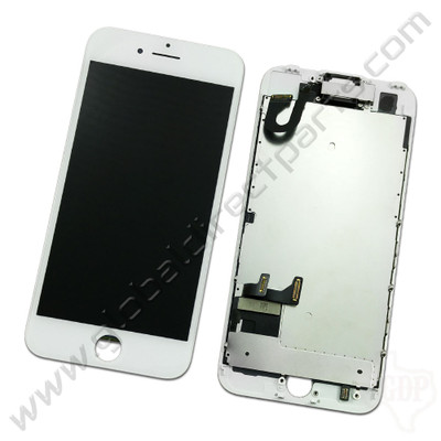 OEM Apple iPhone 7 Complete LCD & Digitizer Assembly - White [Not Including Home Button]