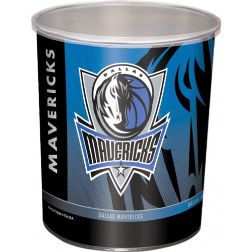 Dallas Mavericks 1 Gallon Tin