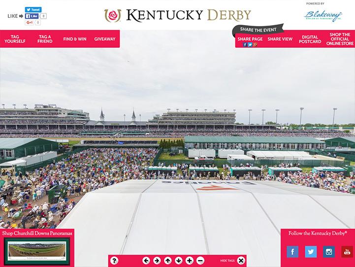 Kentucky Derby 360 Gigapixel Fan Photo