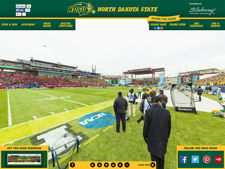 2015 NCAA FCS National Champions 360 Gigapixel Fan Photo