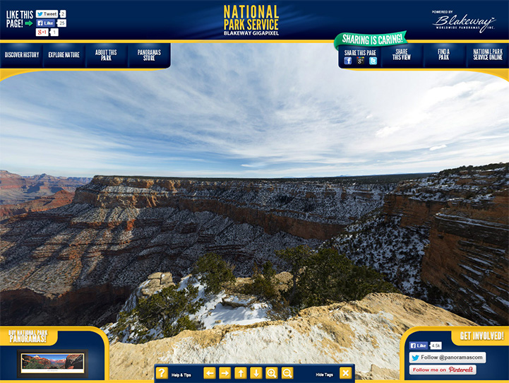 Grand Canyon National Park 360 Gigapixel Fan Photo