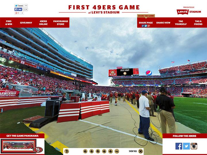 San Francisco 49ers 360 Gigapixel Fan Photo