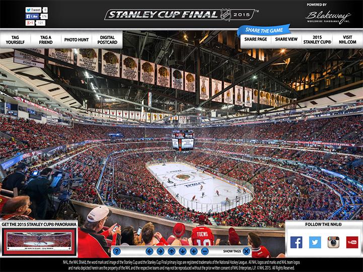 2015 NHL Stanley Cup Final 360 Gigapixel Fan Photo