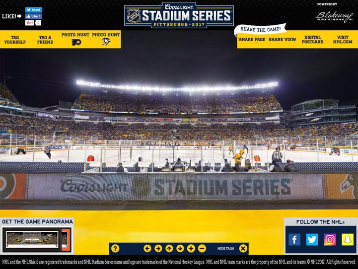 2017 NHL Stadium Series 360 Gigapixel Fan Photo
