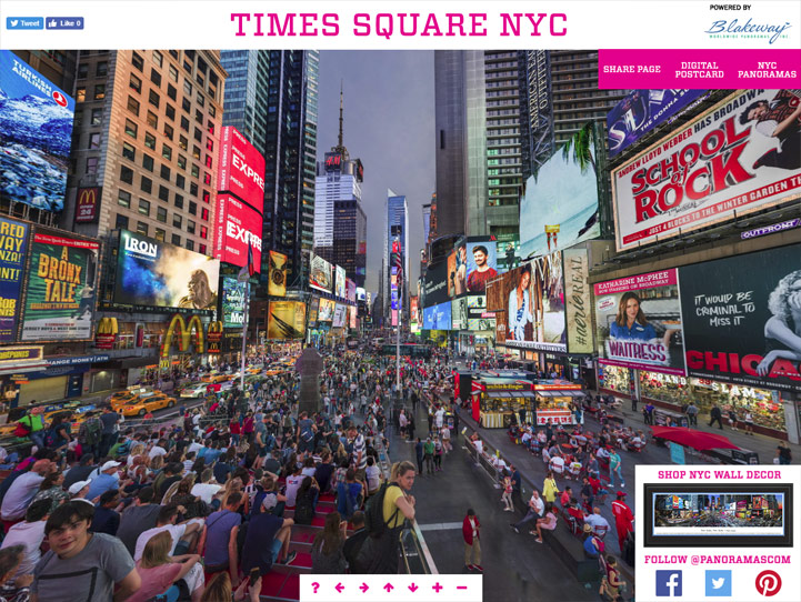 Times Square NYC 360 Gigapixel Photo