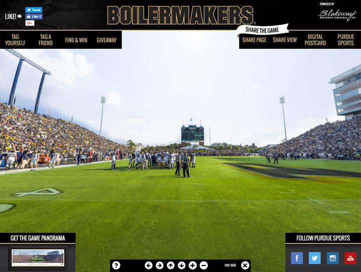 Purdue Boilermakers 360 Gigapixel Fan Photo